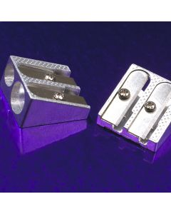 Double Hole Pencil Sharpeners. Pack of 20